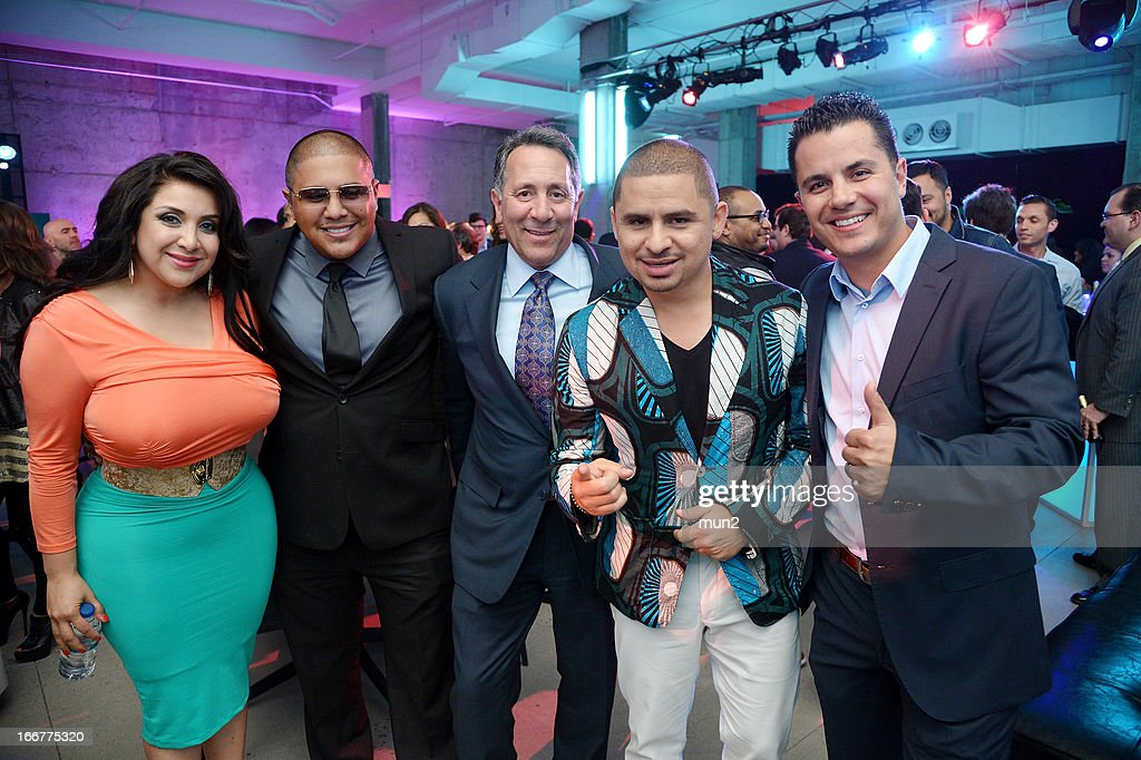 Martha Vargas, <a gi-track='captionPersonalityLinkClicked' href=/galleries/search?phrase=Fernando+Vargas+-+Boxer&family=editorial&specificpeople=215059 ng-click='$event.stopPropagation()'>Fernando Vargas</a>, Joe Uva, <a gi-track='captionPersonalityLinkClicked' href=/galleries/search?phrase=Larry+Hernandez&family=editorial&specificpeople=6918528 ng-click='$event.stopPropagation()'>Larry Hernandez</a>, and Karim Mendiburu. --