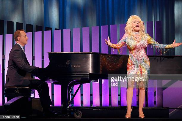 Upfront Presentation Presentation to Advertisers Pictured Robert Greenblatt Chairman NBC Entertainment Dolly Parton 'Coat of Many Colors'