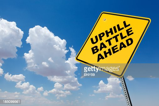 Image result for uphill battle