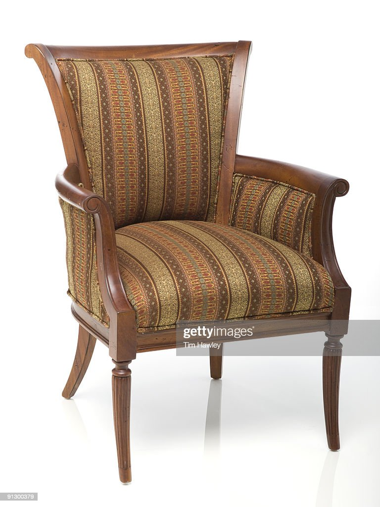 Upholstered Chair : Stock Photo