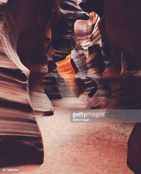 Upper Antelope Canyon Rock Waves