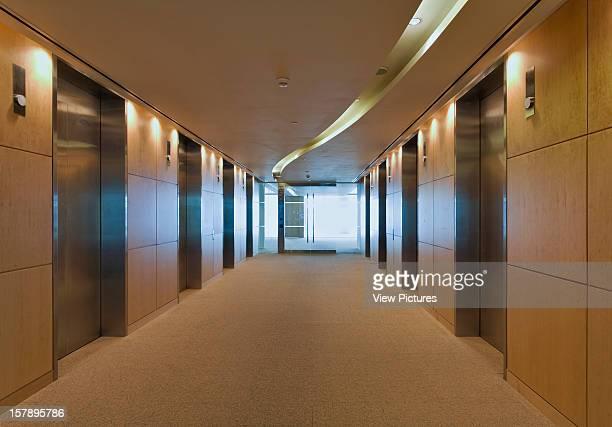 10 Upper Bank Street London United Kingdom Architect Kohn Pederson Fox 10 Upper Bank Street Lift Lobby