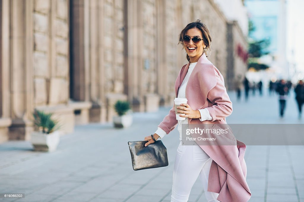 Upper class woman : Stock Photo