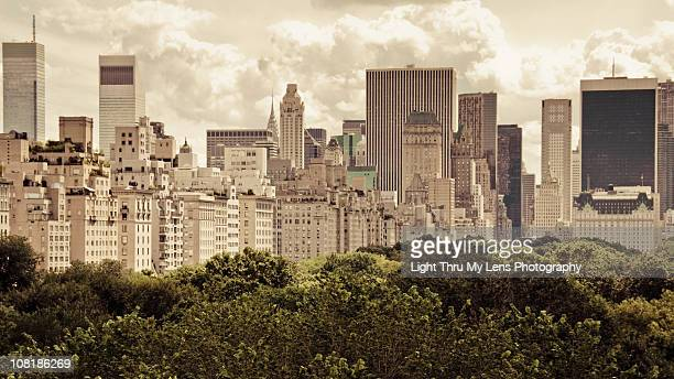 Upper East Side and Central Park view