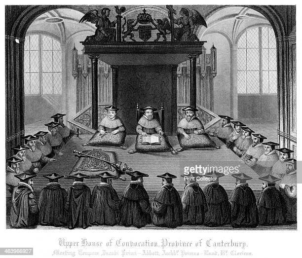 'Upper House of Convocation Province of Canterbury' A convocation is a synodical assembly of the Church of England which is divided into two...