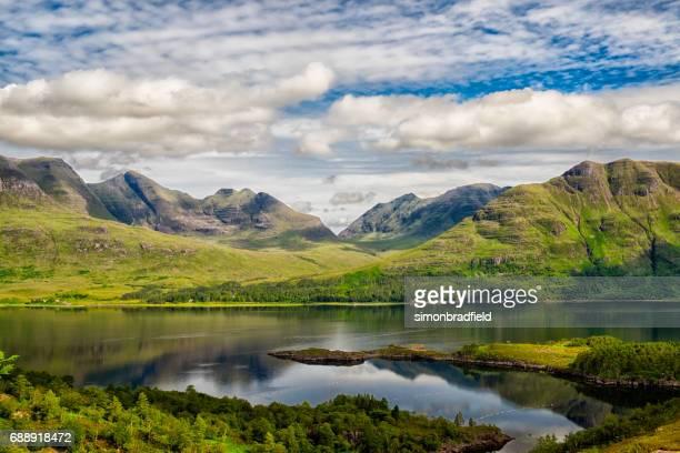 Upper Loch Torridon In Scotland's Northwest Highlands