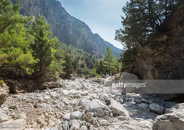 Upper part of Samaria Gorge, Crete