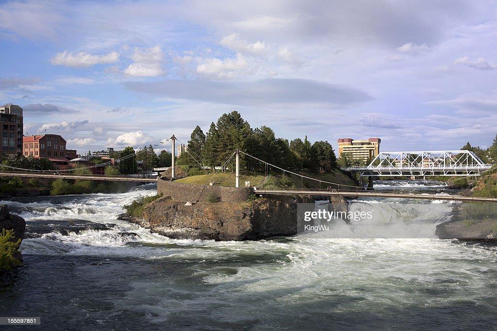 Upper Spokane Falls.