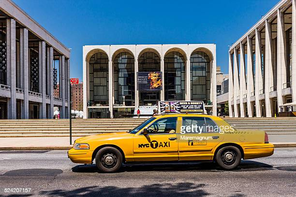 Upper West Side, taxi near the Lincoln Center