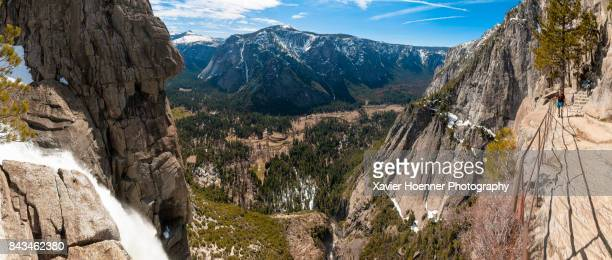 Upper Yosemite Fall and Yosemite Valley
