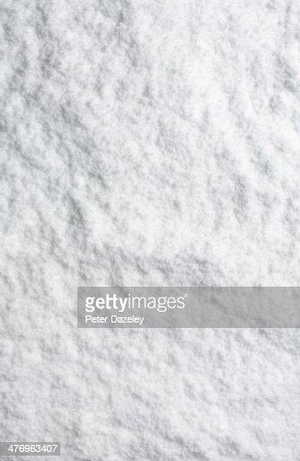 Upright powder snow