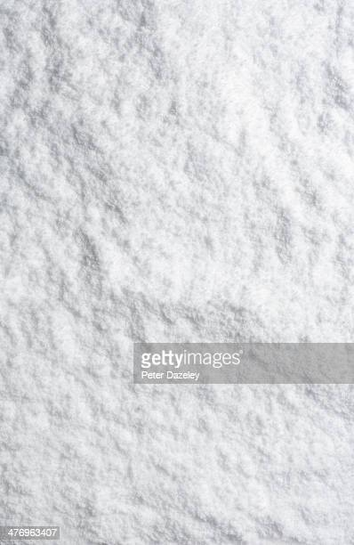 Upright powder snow