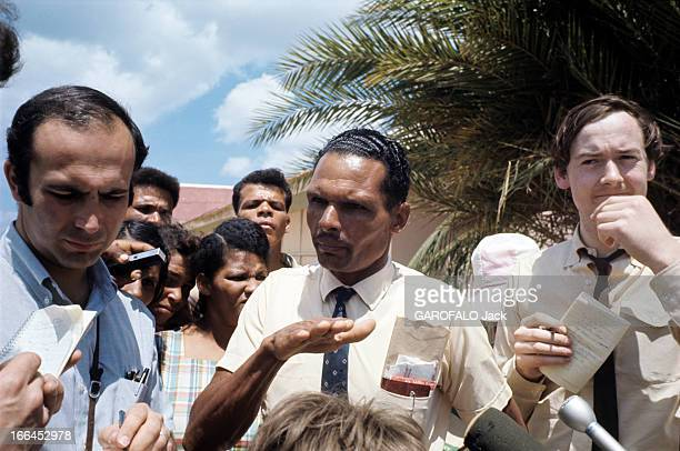 Uprising Of The People Of Anguilla Island In The Caribbean For Independence Anguilla 19 mars 1969 Lutte pour l'indépendance Ronald WEBSTER président...