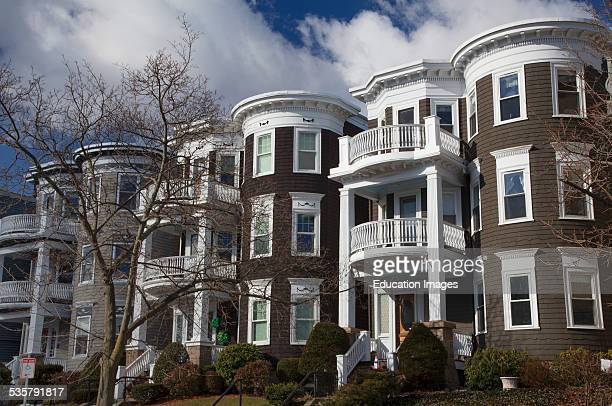 Upscale condos and homes of South Boston Massachusetts