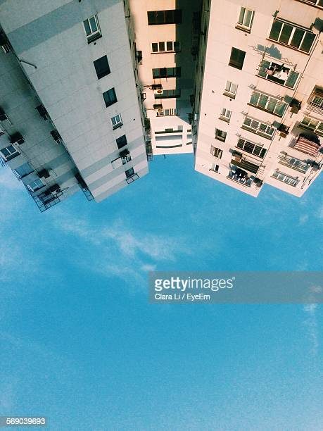 Upside Down Image Of Buildings