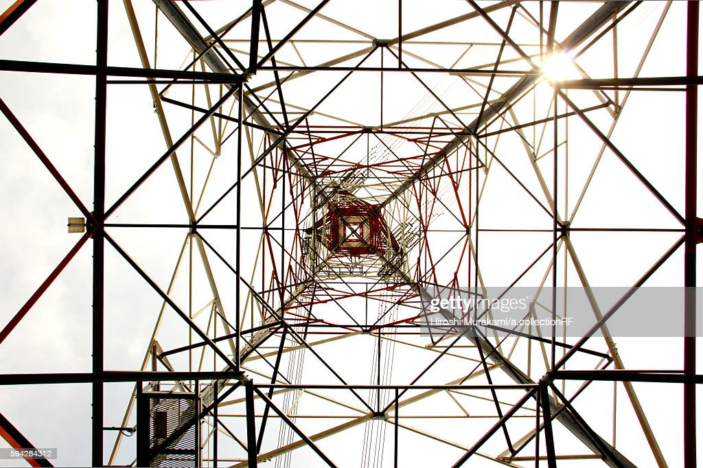 Upside View of Power Tower
