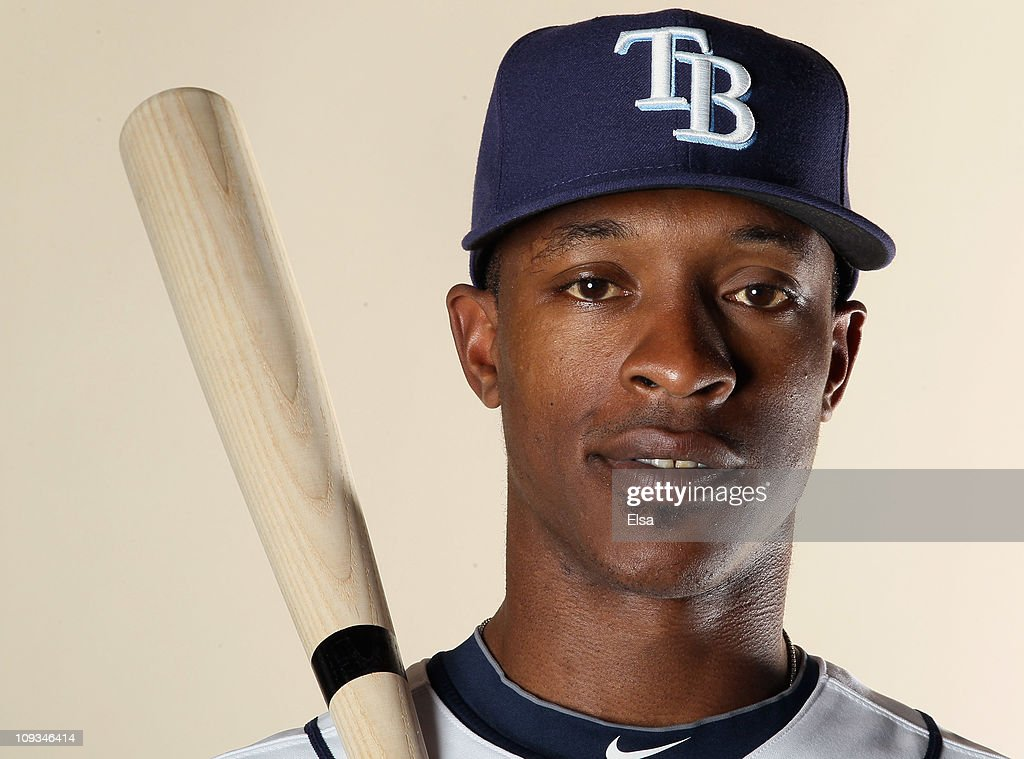 J Upton of the Tampa Bay Rays poses for a portrait during the Tampa Bay Rays Photo Day on February 22 2011 at the Charlotte Sports Complex in Port...