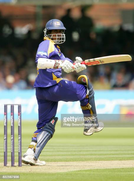 Upul Tharanga batting for Sri Lanka during his innings of 120 runs in the 1st NatWest Series One Day International between England and Sri Lanka at...