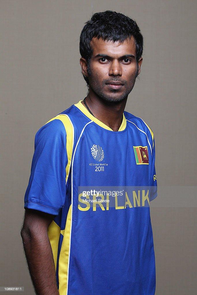 Upul Tharanga of Sri Lanka ahead of the 2011 ICC World Cup at the Hilton Hotel on February 9, 2011 in Colombo, Sri Lanka.
