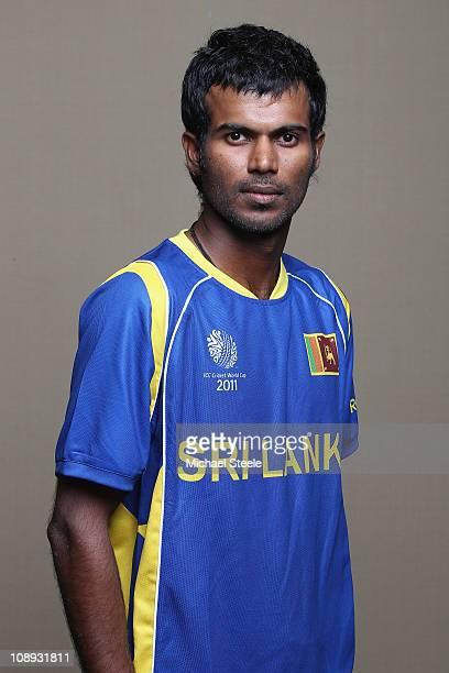 Upul Tharanga of Sri Lanka ahead of the 2011 ICC World Cup at the Hilton Hotel on February 9 2011 in Colombo Sri Lanka