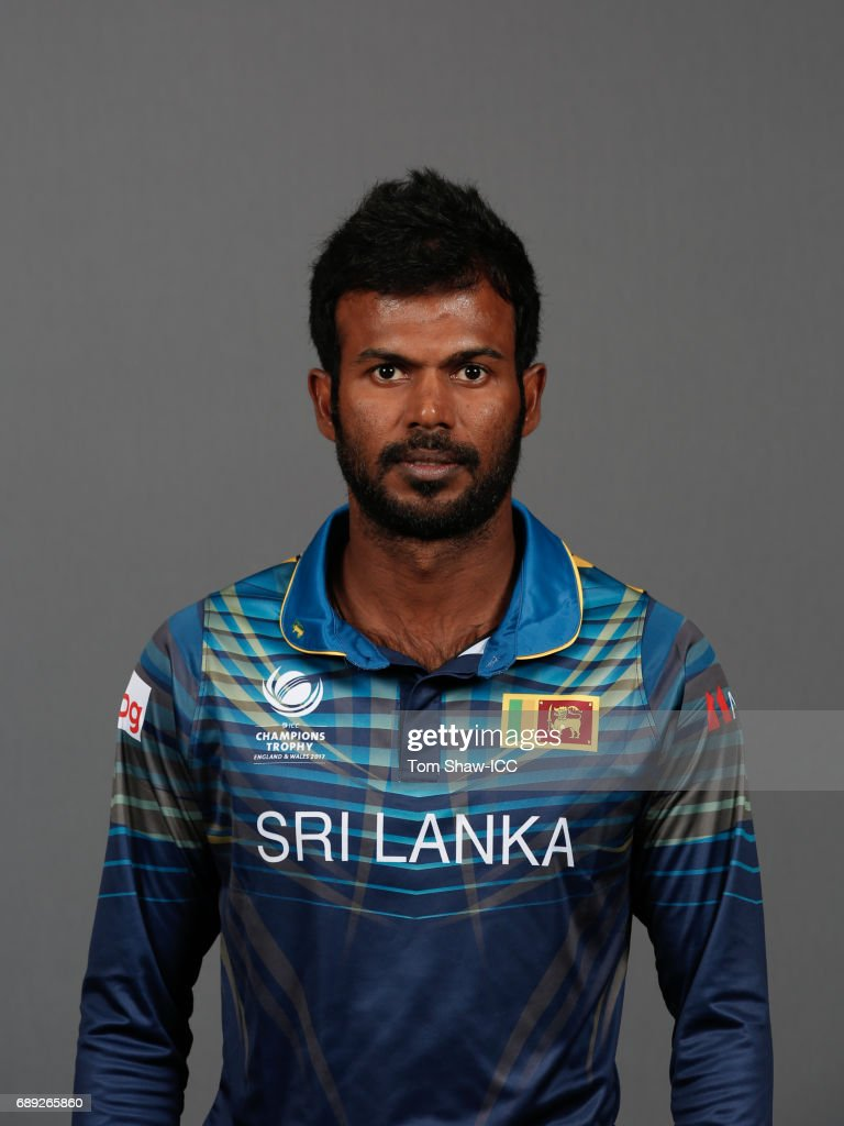 ICC Champions Trophy - Sri Lanka Portrait Session