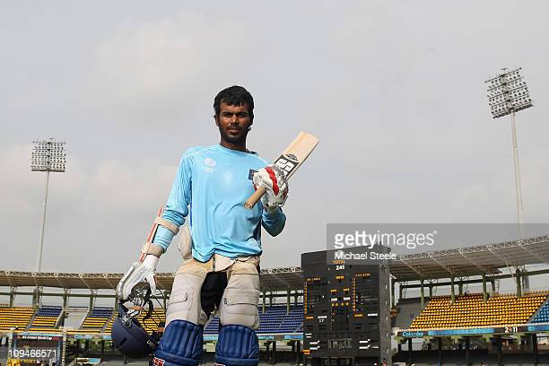 Upul Tharanga of Sri Lanka poses for a portrait ahead of the Pakistan v Sri Lanka 2011 ICC World Cup Group A match at the R Premadasa Stadium on...