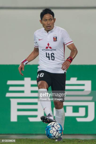Urawa Red Diamonds defender Moriwaki Ryota in action during the AFC Champions League 2016 Group Stage Match Day 3 between Guangzhou Evergrande VS...