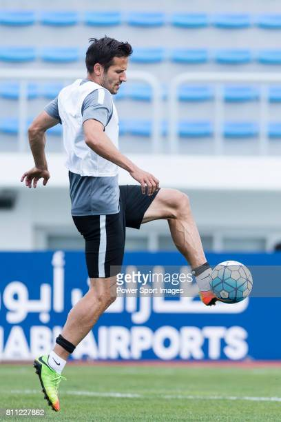 Urawa Reds Forward Zlatan Ljubijankic in action during the training session prior to the AFC Champions League 2017 Round of 16 match between Jeju...