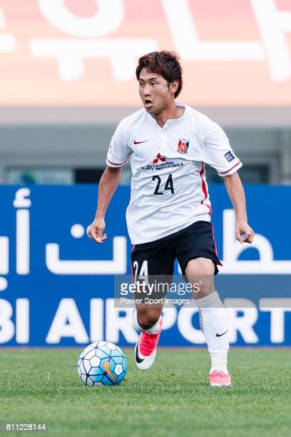 Urawa Reds Midfielder Sekine Takahiro in action during the AFC Champions League 2017 Round of 16 match between Jeju United FC vs Urawa Red Diamonds...