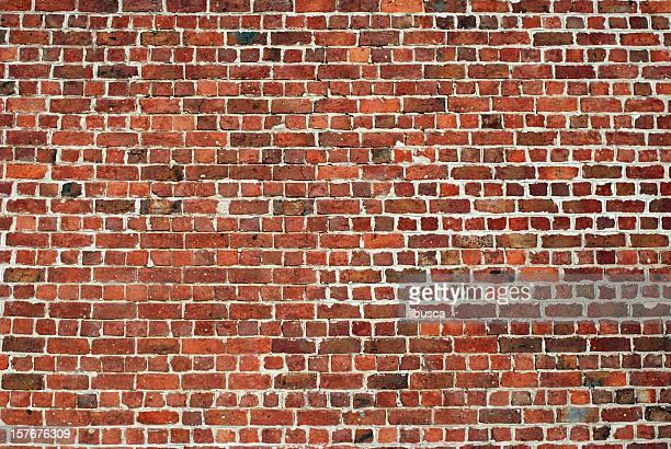 都会の背景 UK -赤いレンガの壁