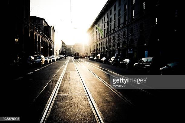 Urban Backlight in Munich, Germany