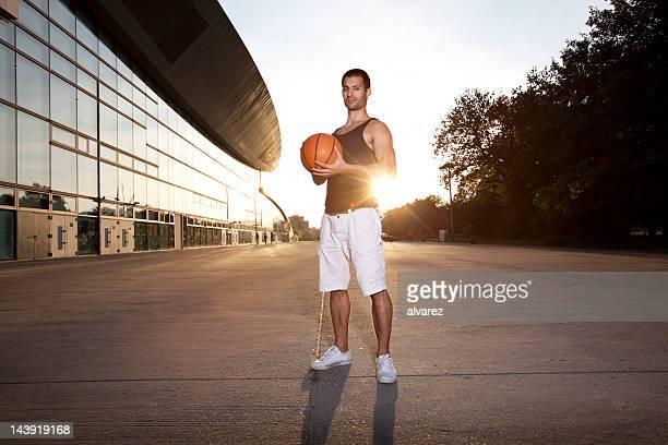 Urban Basketball Player