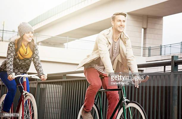 Urban Radfahrer