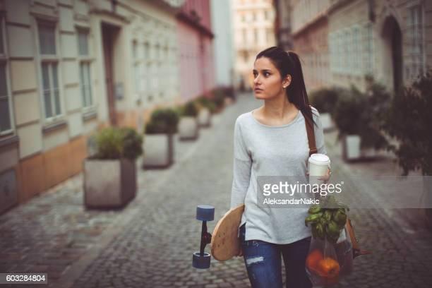 Urban grocery shopper