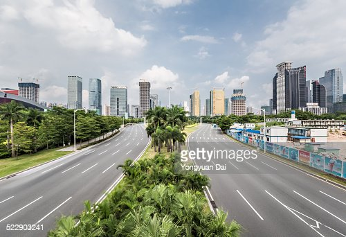 Urban Highway in Shenzhen