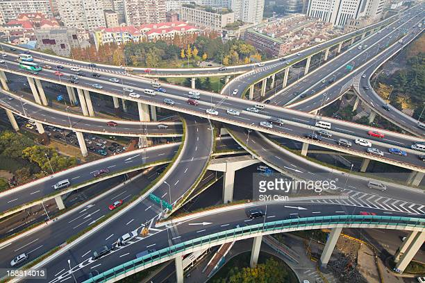 Urban Highways Intersection of Yanan road