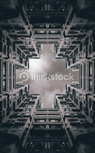 Selva urbana : Foto de stock