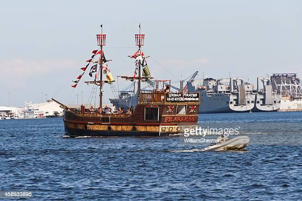 Urban Pirates Ship In Baltimore Maryland