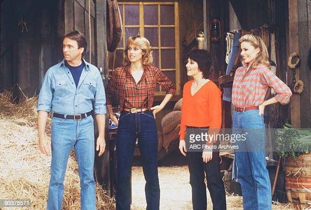S COMPANY 'Urban Plowboy' Season Six 2/9/82 Cindy invited Jack Janet and Terri to spend the weekend at her aunt's farm