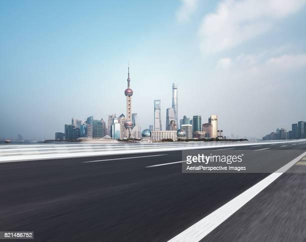 Urban Road, Shanghai, China