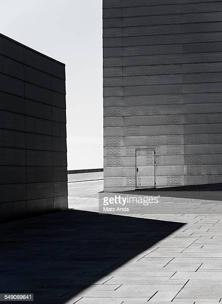 Urban scene with shadow play in Oslo