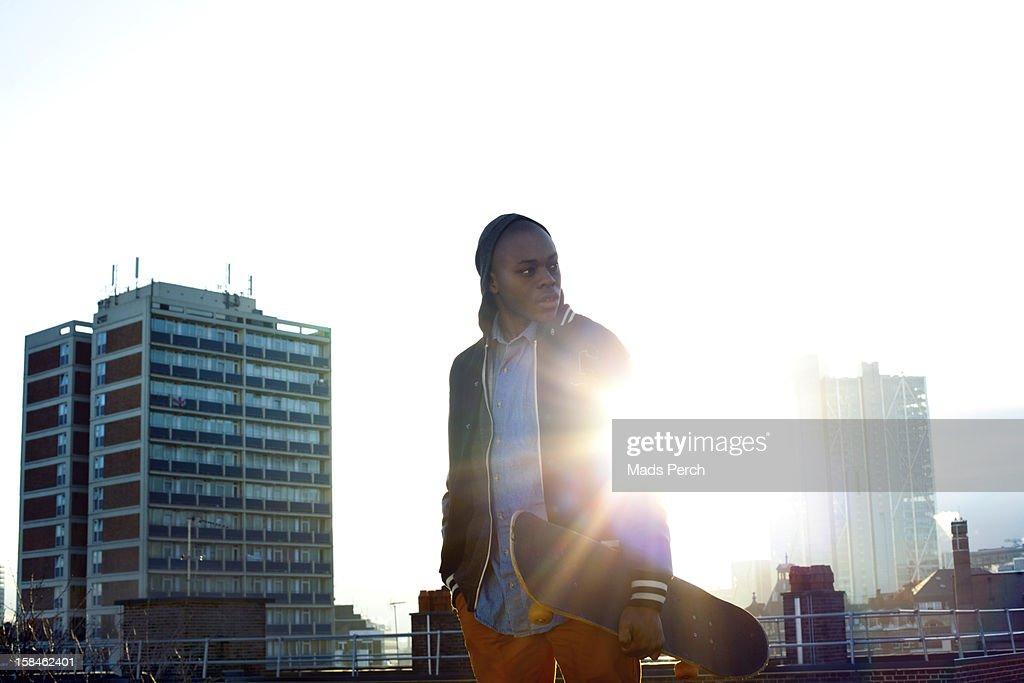 Urban Shoot, East London : Stock Photo