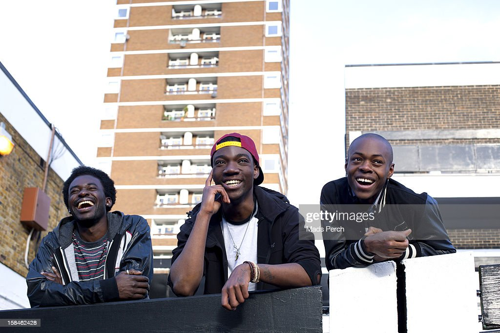 Urban Shoot, East London : Stock Photo