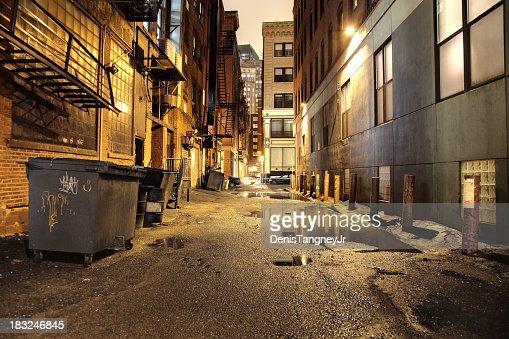 都会の街の夜景