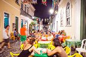 Urban street scene from the Pelourinho area.