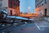 Urban Tornado Damage