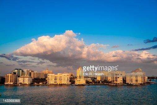Urban waterfront, Florida
