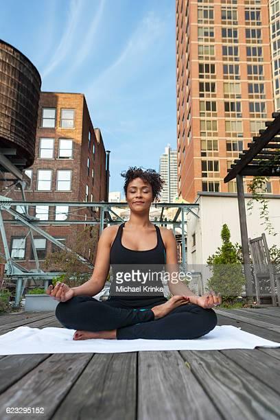 Urban yoga