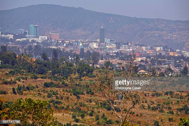 a view of the center of the city and its new offices buildings Located at Rwandas geographical heart the rapidly growing City of Kigali is the...