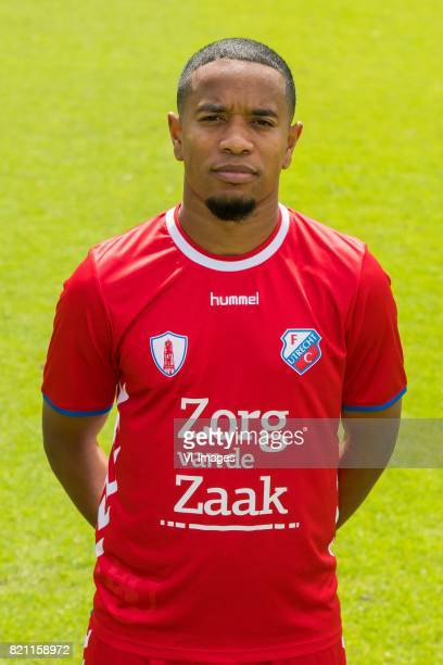 Urby Emanuelson during the team presentation of FC Utrecht on July 22 2017 at Sportcomplex Zoudenbalch in Utrecht The Netherlands